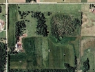 Aerial image of farm in Motley