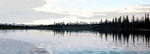 Alaskan lake